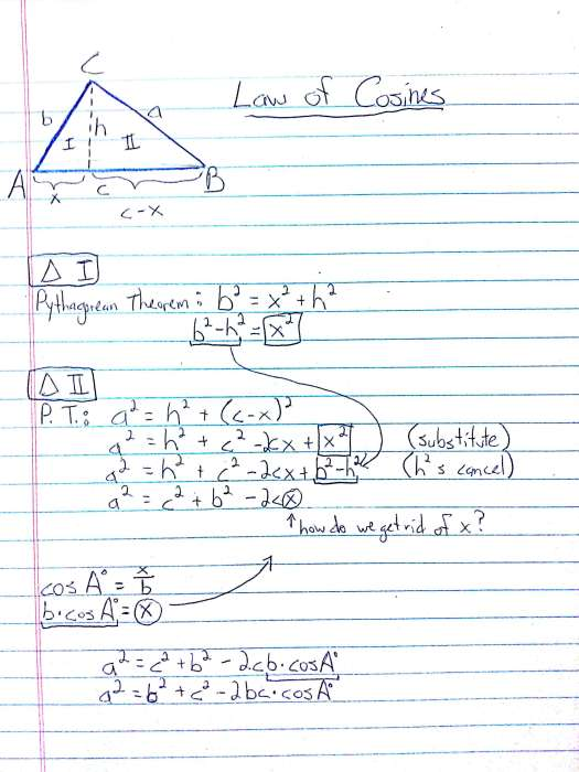 Trig Project, Savings Project, and Law of Cosines – MrArnold